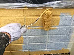 高崎市 アパート 外壁 中塗り