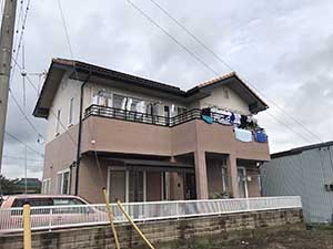 玉村町 外壁塗装・ベランダFRP防水