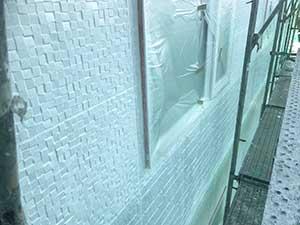 玉村町 外壁下塗り