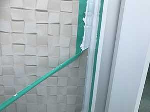 玉村町 外壁テープ剥がし