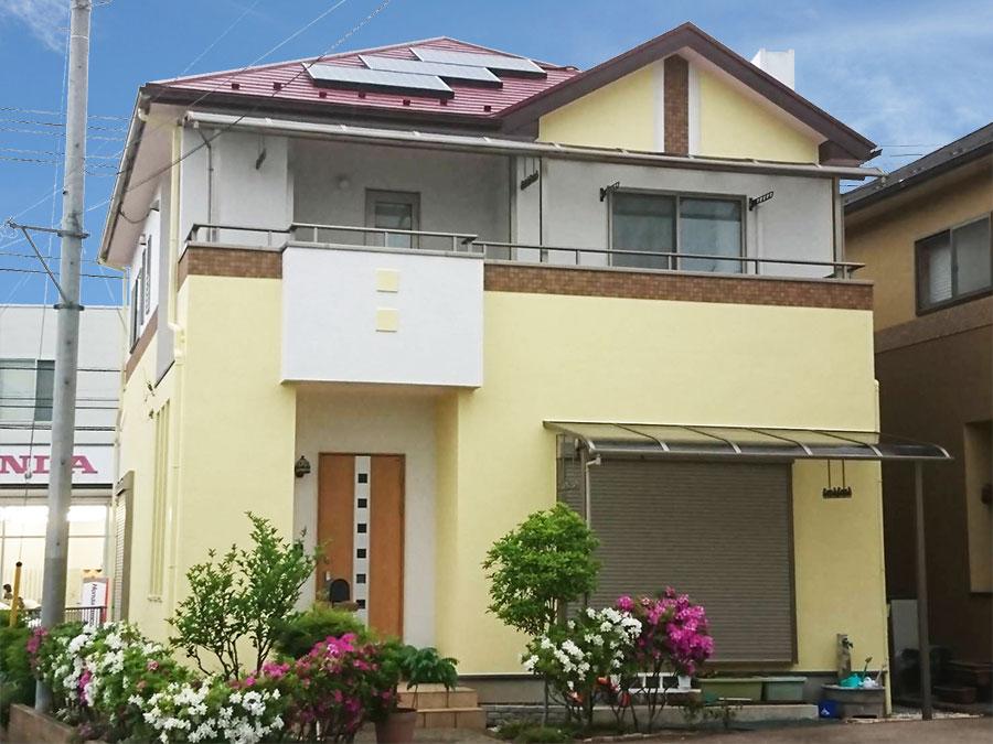 藤岡市 外壁屋根塗装 施工事例