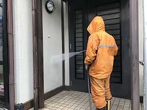 藤岡市 屋根外壁塗装 外壁洗浄