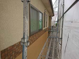 藤岡市 外壁塗装 足場工事