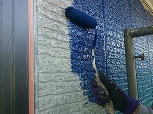 高崎市箕郷町 外壁中塗り