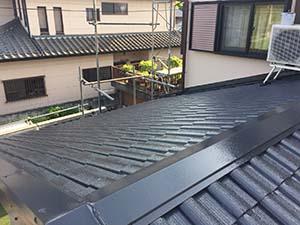藤岡市 屋根塗装 完工