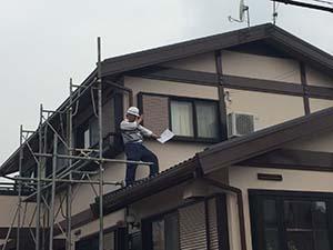 藤岡市 外壁屋根塗装 JIO検査
