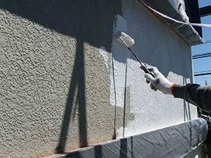 藤岡市 壁下塗り