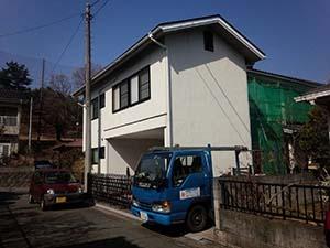 渋川市伊香保町 外壁塗装工事
