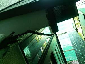 渋川市伊香保町 外壁塗装工事 破風板1回目