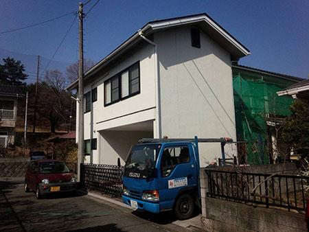 渋川市伊香保町 外壁塗装ビフォー