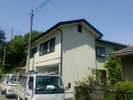 渋川市伊香保町 外壁塗装アフター