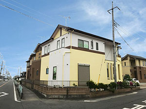 施工事例 藤岡市 外壁屋根塗装
