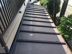 前橋市富士見町 1階屋根塗装前