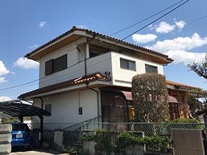 埼玉県上里町 外壁塗装工事 施工例