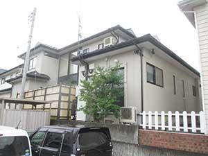 高崎市高関町 外壁塗装完工