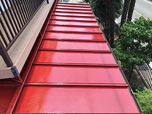 前橋市 一階屋根塗装 完工