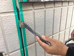 外壁目地コーキング打ち替え プライマー
