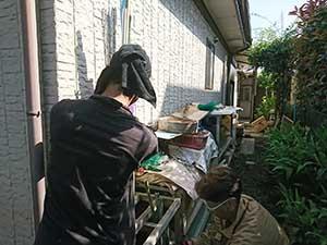 前橋市富士見町塗装 準備