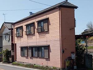 吉岡町 屋根と外壁塗装 着工前