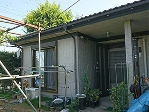 前橋市富士見町 平屋外壁塗装