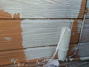 吉岡町 外壁下塗り