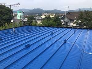 桐生市 屋根上塗り