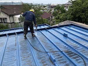 桐生市 屋根洗浄