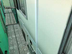 桐生市 外壁上塗り
