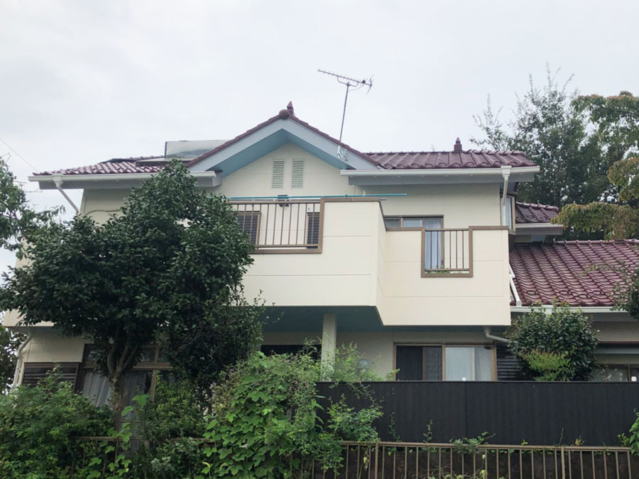 前橋市富士見町 外壁塗装 施工事例