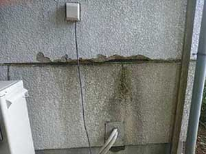 前橋市富士見町 パワーボード欠け