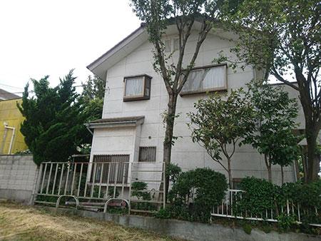 前橋市富士見町 外壁塗装施工前