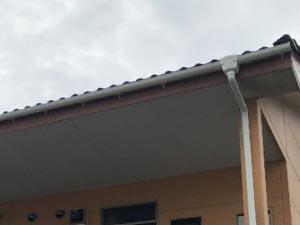 前橋市アパート 雨樋交換 完工