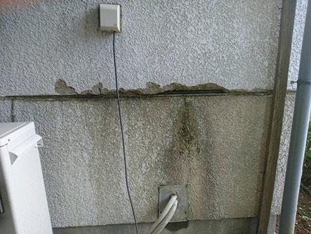 前橋市富士見町 外壁補修前