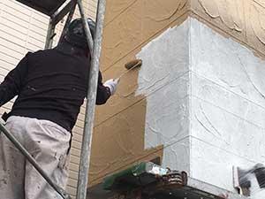 吉岡町 外壁中塗り
