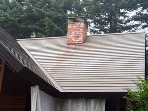 軽井沢南が丘 別荘外壁屋根塗装