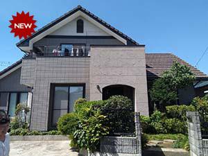 吉岡町 外壁と屋根塗装 施工事例