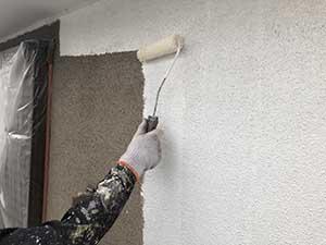 高崎市宮元町 外壁下塗り