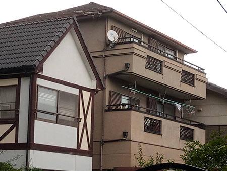 高崎市宮元町 外壁・屋根塗装 施工前