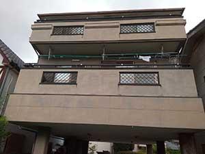 高崎市宮元町 外壁屋根塗装前