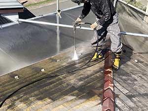 高崎市宮元町 屋根洗浄