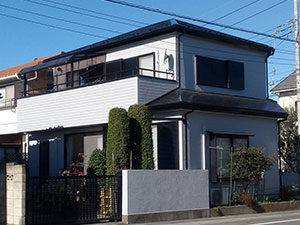 前橋市三俣町 外壁屋根塗装 完工