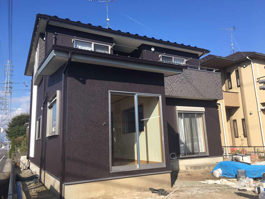 太田市 外壁塗装 施工事例