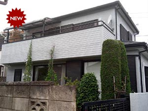 前橋市三俣町 屋根と外壁塗装工事