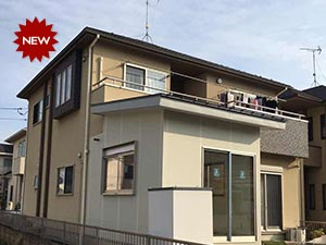 太田市 モルタル外壁塗装工事