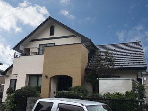 北群馬郡吉岡町T様 サイディング外壁・モニエル瓦屋根塗装 施工事例