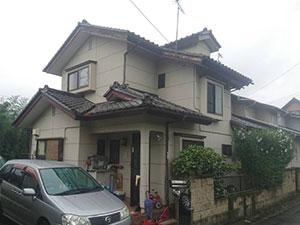 前橋市富士見町 外壁塗装