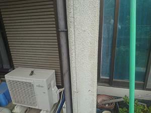 前橋市富士見町 雨樋塗装