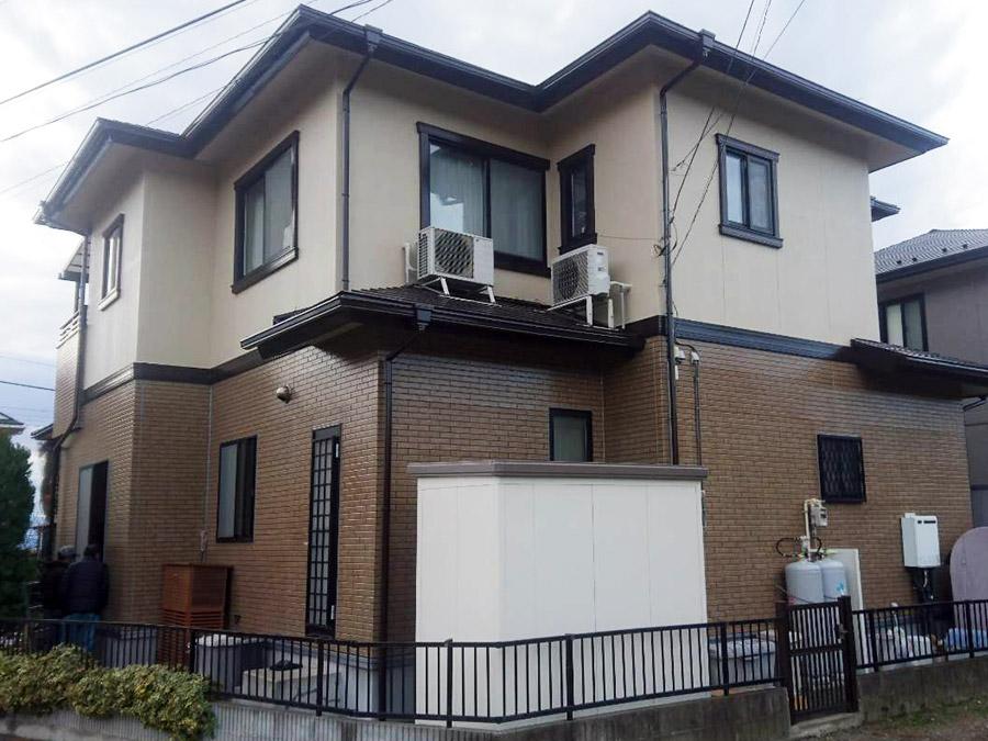 前橋市富士見町 外壁屋根塗装施工事例
