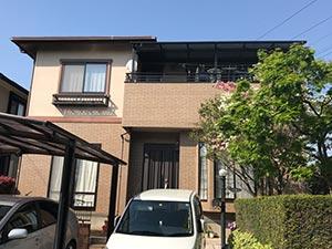 前橋市富士見町 外壁クリアー塗装工事