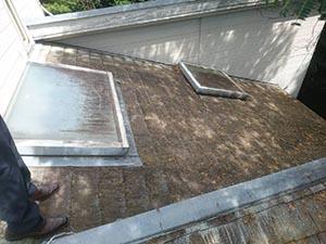渋川市赤城町 コロニアル屋根塗装
